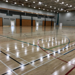 Sports Flooring Indoor Area