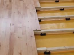 School - Floor Laying Close-up