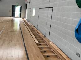 School - Old Flooring Up
