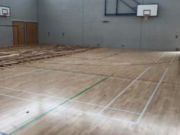 School - Old Flooring Wide Shot