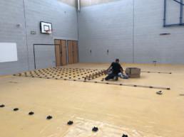 School - Starting To Lay Floor