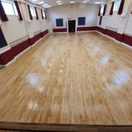 School Hall Flooring