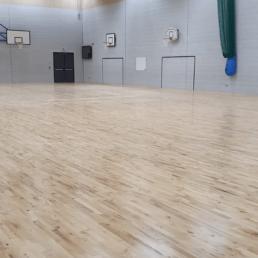 University Sports Hall Flooring