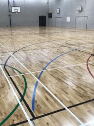Sports Hall Wood